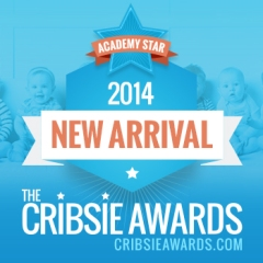 Our new Tamiko bodysuit received an Academy Star from the Cribsie Awards!